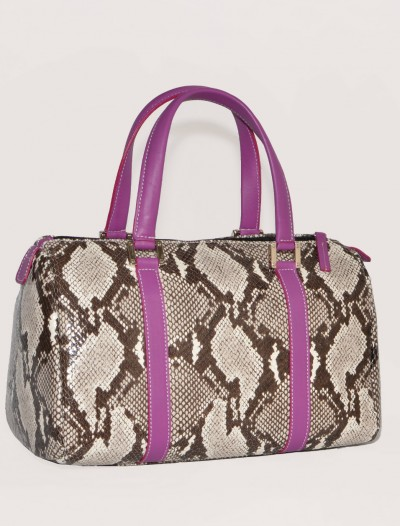snakeskin handbags Laura-Bag Fashionista