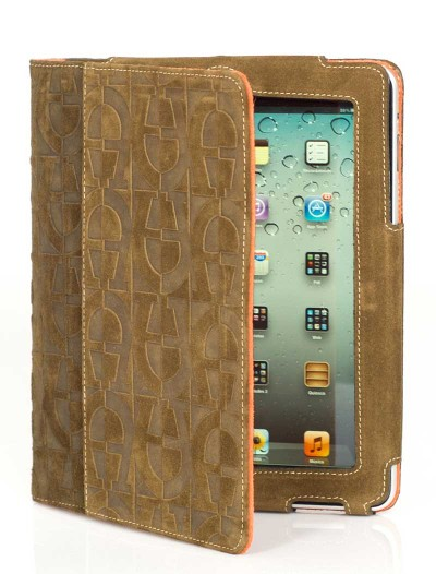 womens-ipad-cover-green-orange-leather