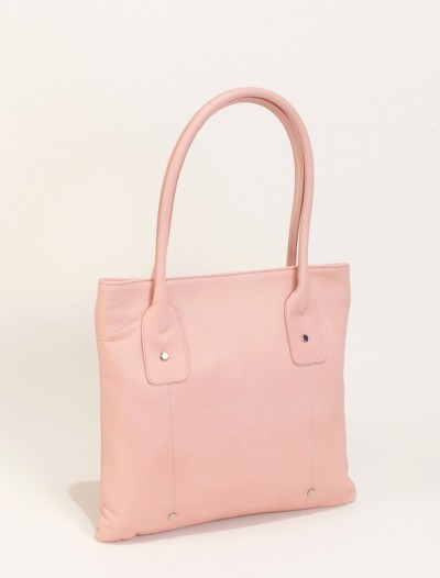 light pink leather handbags-Bag Fashionista