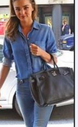How to combine dark blue handbags -Bag Fashionista