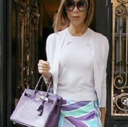 How to combine a violet handbag-Bag Fashionista