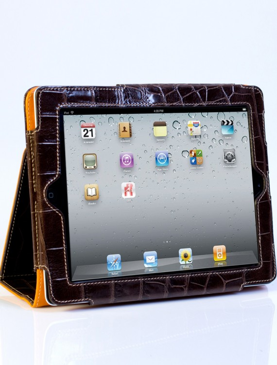 protective-ipad-cover-with-stand-leather-crocodile-print