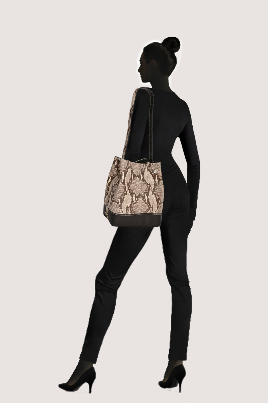 snakeskin handbags Laura