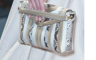Faux Snakeskin Handbags-Bag Fashionista
