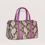 snakeskin handbags Laura-Bag Fashionista