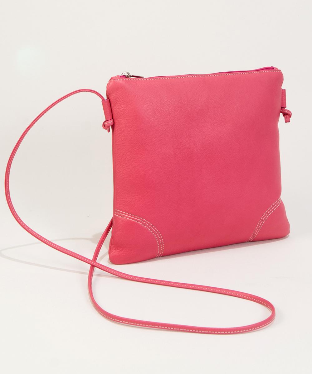 Pink leather handbags-Bag Fashionista