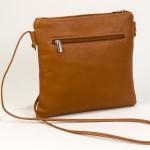 Small Brown Leather Handbag-Bag Fashionista