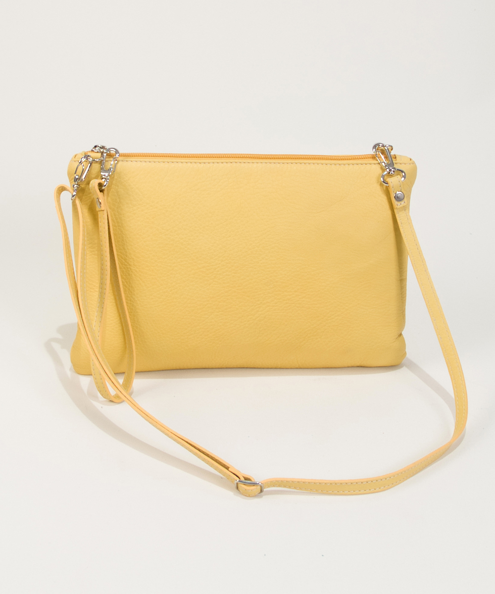 Yellow Clutch Bag-Bag Fashionista