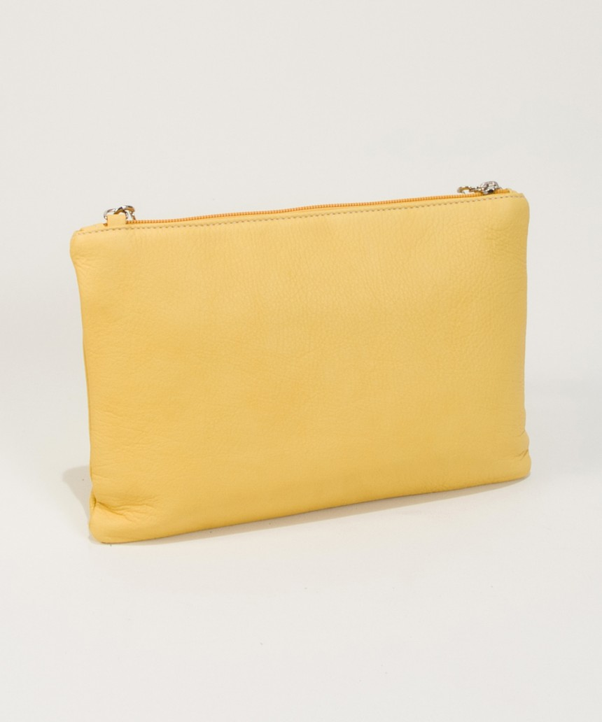 Yellow Clutch Bag Cari-Bag Fashionista