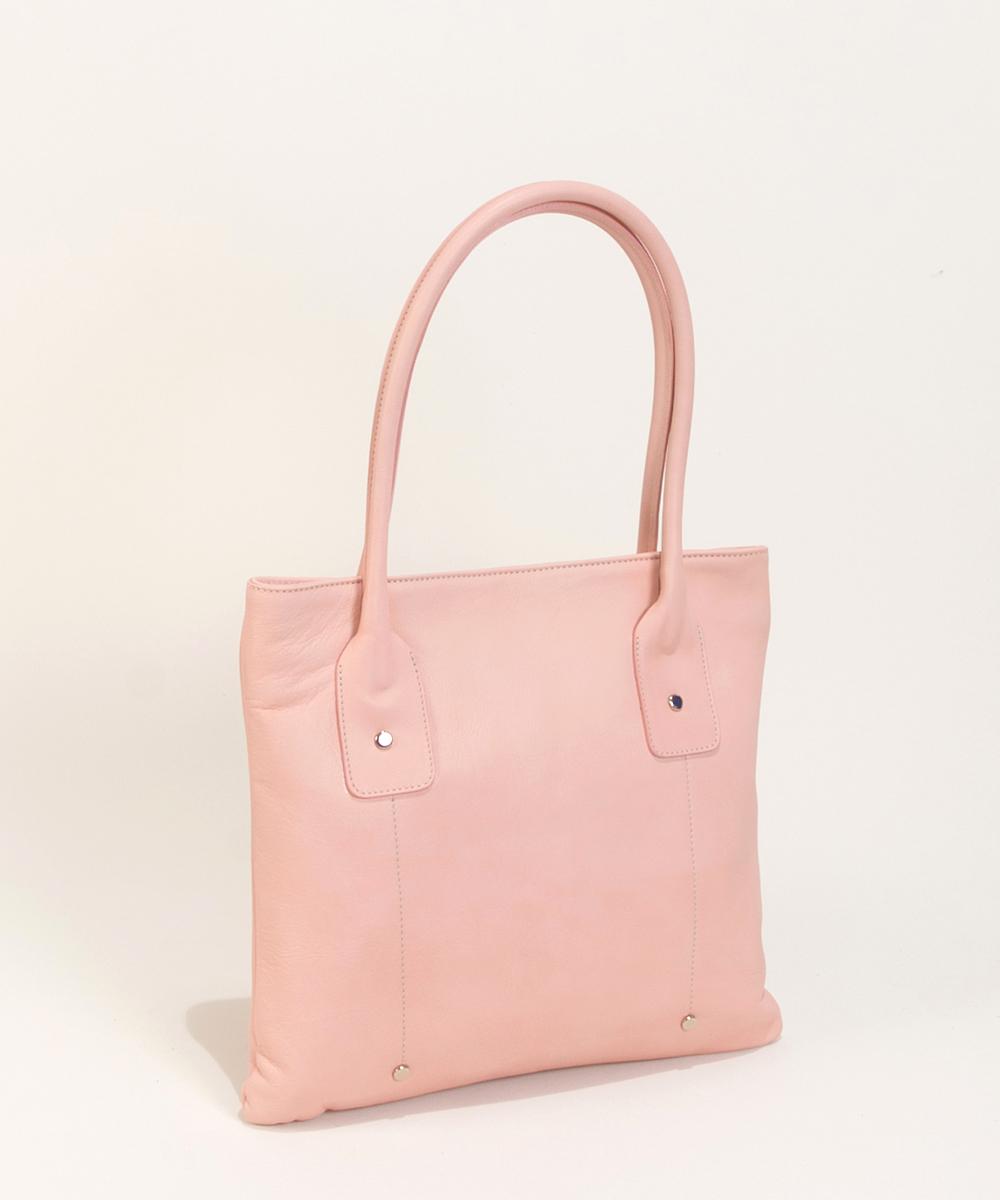 light pink leather handbags-Bag Fashionista