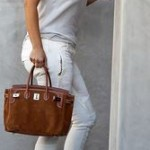 How to combine a brown handbag in summer-Bag Fashionista