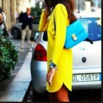 How to wear color block handbags-Bag fashionista