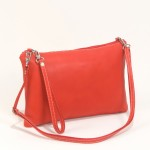 Leather cluth in red-Handbag Cari-Bag Fashionista